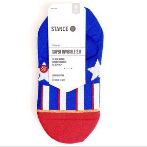 Stance Patriotism American Flag Ankle Socks Low